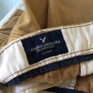 American eagle men's khakis great condition